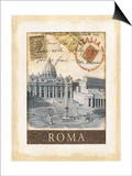 Destination Rome Posters by Tina Chaden