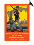 Marines Come in Two Varieties Prints by Wilbur Pierce