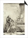 The Mozart Family Prints