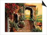 Sulle Scale Verso Prints by Guido Borelli