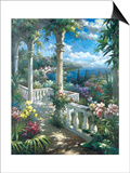 Seaside Terrace Print by James Reed