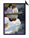 Looking-Glass River Prints by Jessie Willcox-Smith