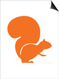 Orange Squirrel Posters by  Avalisa