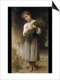 Return from the Fields Prints by William Adolphe Bouguereau