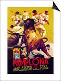 Pamplona, San Fermin Prints by Charles Dana Gibson