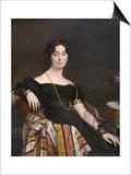 Madame Jacques-Louis Leblanc (Née Françoise Poncelle, Print by Jean-Auguste-Dominique Ingres