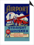 Airport Straight Whiskey Prints