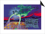 Exposition Internationale d'Electricite, Marseille Prints by David Dellepiane