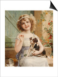 Waiting for the Vet Posters by Emile Vernon