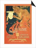 Distillerie Italiane (Italian Distillery) Prints by Leopoldo Metlicovitz