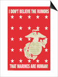 I Don't Believe the Rumors Prints by Wilbur Pierce