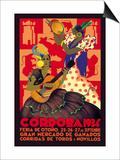 Cordoba, Feria de Otono Poster by Gertrude Leooley