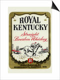 Royal Kentucky Straight Bourbon Whiskey Prints