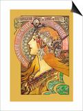 Savonnerie de Bagnolet Posters by Alphonse Mucha
