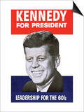 Kennedy for President Prints