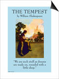 "The Tempest - ""We Are the Stuff That Dreams Are Made Of"" Posters"
