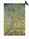 Apple Tree Prints by Gustav Klimt