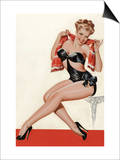 Wink Magazine; Silk Stockings and High Heels Posters by Peter Driben