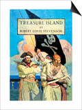 Treasure Island Poster by Newell Convers Wyeth