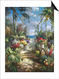 Tropical Breezeway Prints by James Reed