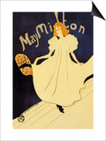 May Milton on Stage Posters by Henri de Toulouse-Lautrec