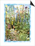 Flowers Print by Jessie Willcox-Smith