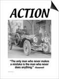 Action Print by Wilbur Pierce
