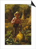 That's Me Pumpkin, 1879 Prints by John George Brown