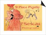 P. Sescau: Photographe Póster por Henri de Toulouse-Lautrec