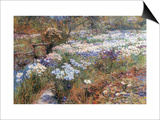 Water Garden Art by Childe Hassam
