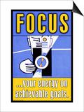 Focus Posters