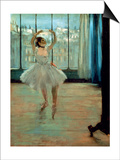 Dancer in Front of a Window Posters by Edgar Degas