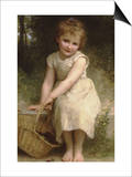 Plums Prints by William Adolphe Bouguereau