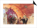 Unconscious Rivals Posters by Sir Lawrence Alma-Tadema