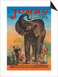 Jumbo, The Children's Giant Pet Prints