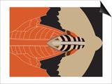 Mechanical Bat Posters by Belen Mena