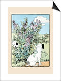 Snip And Snap Play In the Lilac Bushes Posters by Julia Dyar Hardy