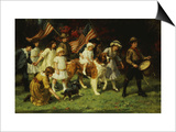 American Parade, 1917 Prints by George Sheridan Knowles