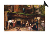 Old Kentucky Home, African American Life in the South Posters by Eastman Johnson