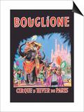 Bouglione, Cirque d'Hiver de Paris Print