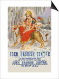 Eden Hashish Center Prints by Yozendra Rastosa