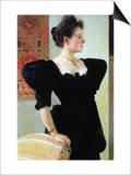 Portrait of Marie Breunig Kunstdrucke von Gustav Klimt