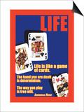 Livet, på engelsk Posters