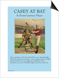 Casey at the Bat Prints
