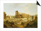 The Colisseum, Rome Posters by Jean Victor Louis Faure