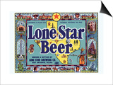 Lone Star Beer Prints