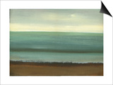 Calm Sea Art by Caroline Gold