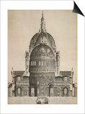 St. Paul's Cathedral Prints by E. Rooker