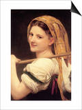 Returned from the Market Prints by William Adolphe Bouguereau