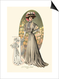 Le Costume Royal: Lady in Green Print